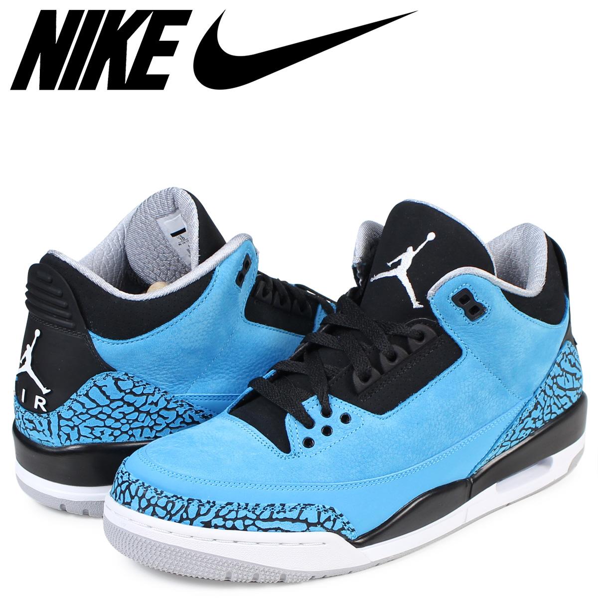 buy popular a8c18 819d6 NIKE Nike Air Jordan 3 nostalgic sneakers AIR JORDAN 3 RETRO 136,064-406  men's shoes blue