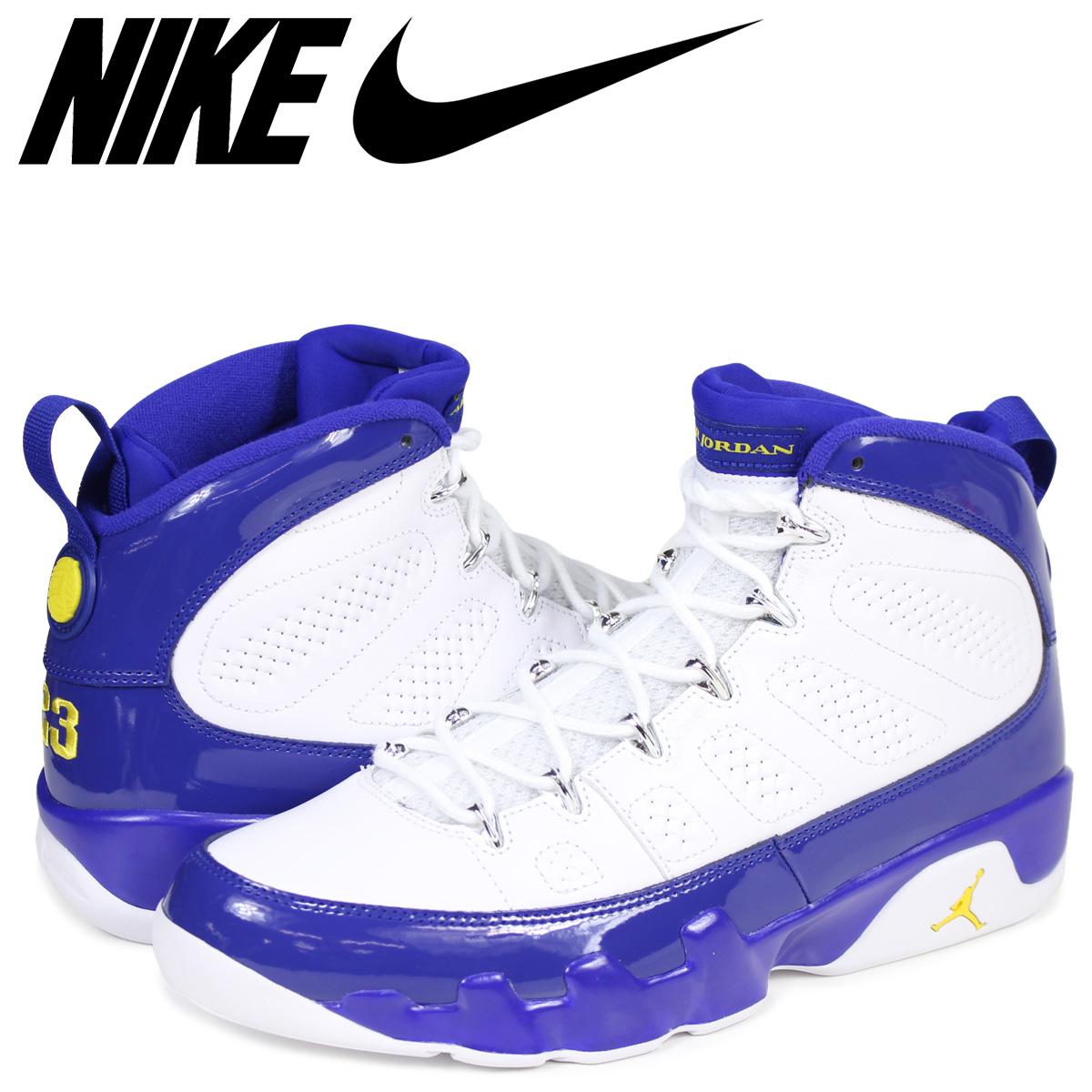 best website 85b55 651f4 NIKE Nike Air Jordan 9 nostalgic sneakers men AIR JORDAN 9 RETRO KOBE white  white 302,370-121
