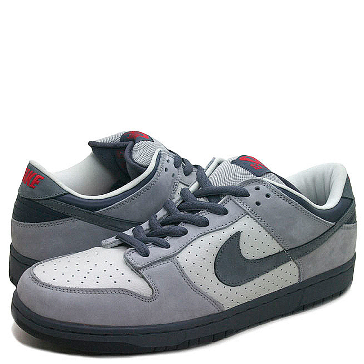 best website 8fd11 e1120 NIKE Nike SB dunk sneakers men DUNK LOW PRO BAND AID 304,292-006 gray