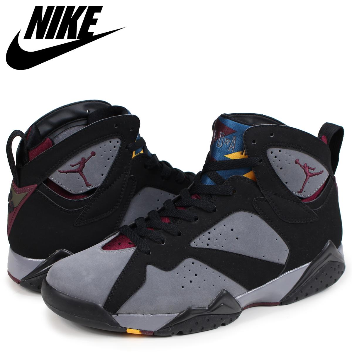 online store 74a78 69b38 NIKE Nike Air Jordan 7 nostalgic sneakers men AIR JORDAN 7 RETRO  304,775-003 black black