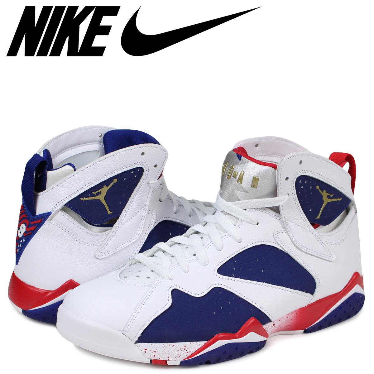 ad6a4a04d5c Sugar Online Shop: NIKE Nike Air Jordan 7 nostalgic sneakers AIR JORDAN 7  RETRO OLYMPIC ALTERNATE 304,775-123 men's white white   Rakuten Global  Market