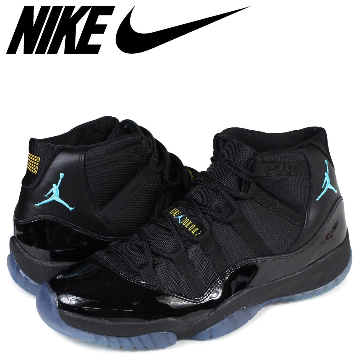 designer fashion be08e 9222e NIKE Nike Air Jordan 11 nostalgic sneakers AIR JORDAN 11 RETRO 378,037-006  men's black black