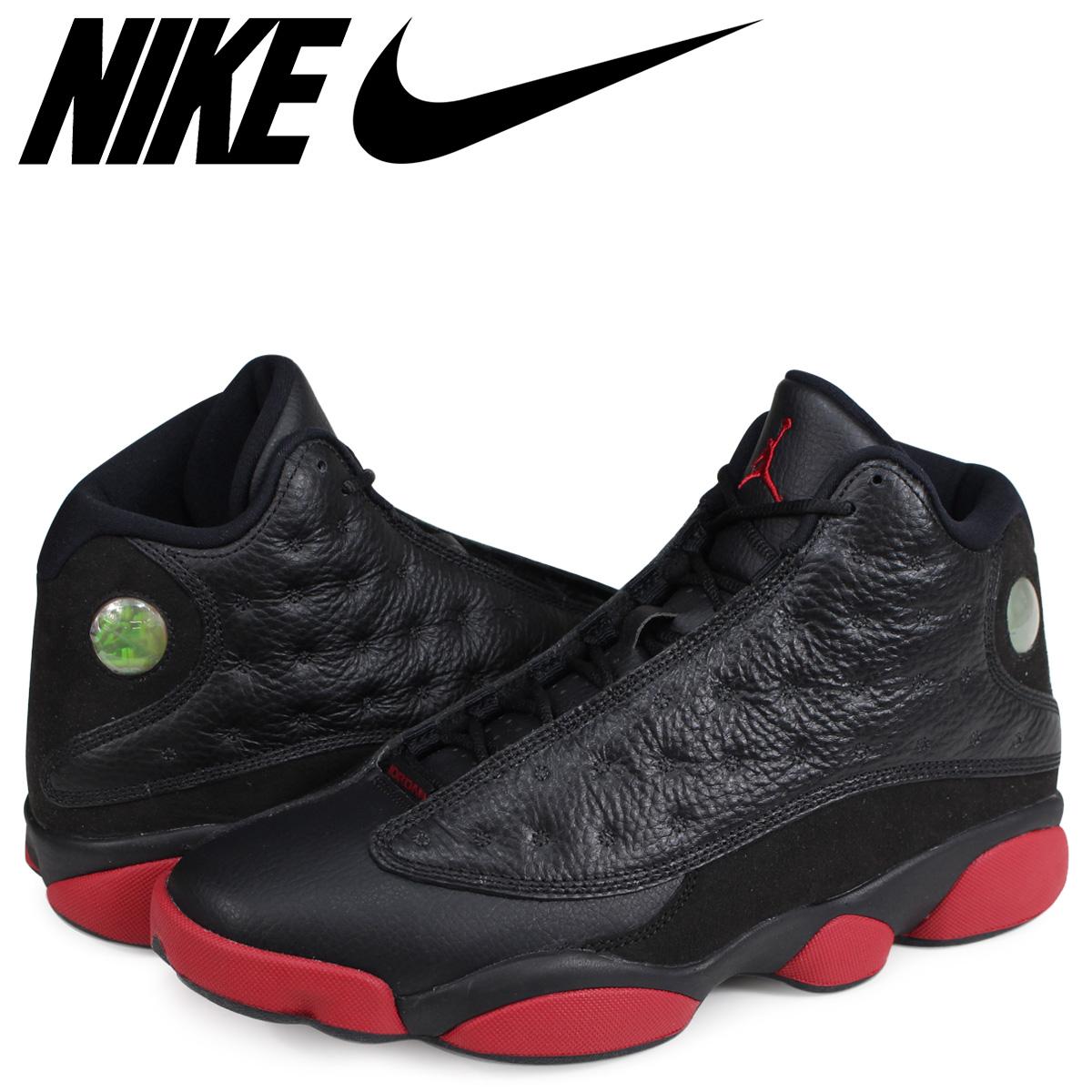 2a831de861817 NIKE Nike Air Jordan 13 nostalgic sneakers AIR JORDAN13 RETRO DIRTY BRED  414,571-003 black ...