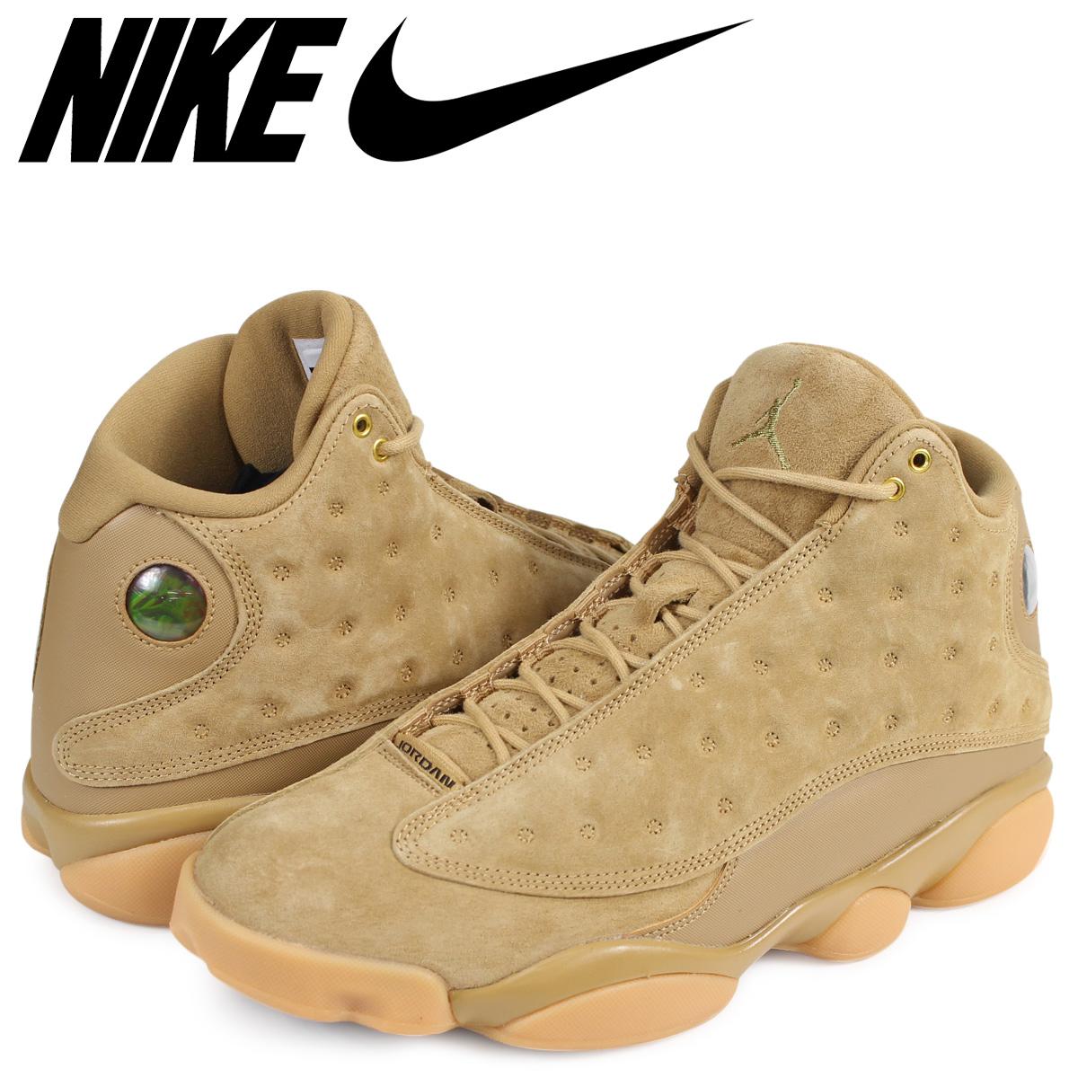 chaussures de sport fea72 0b828 NIKE Nike Air Jordan 13 nostalgic sneakers AIR JORDAN 13 RETRO 414,571-705  men's beige