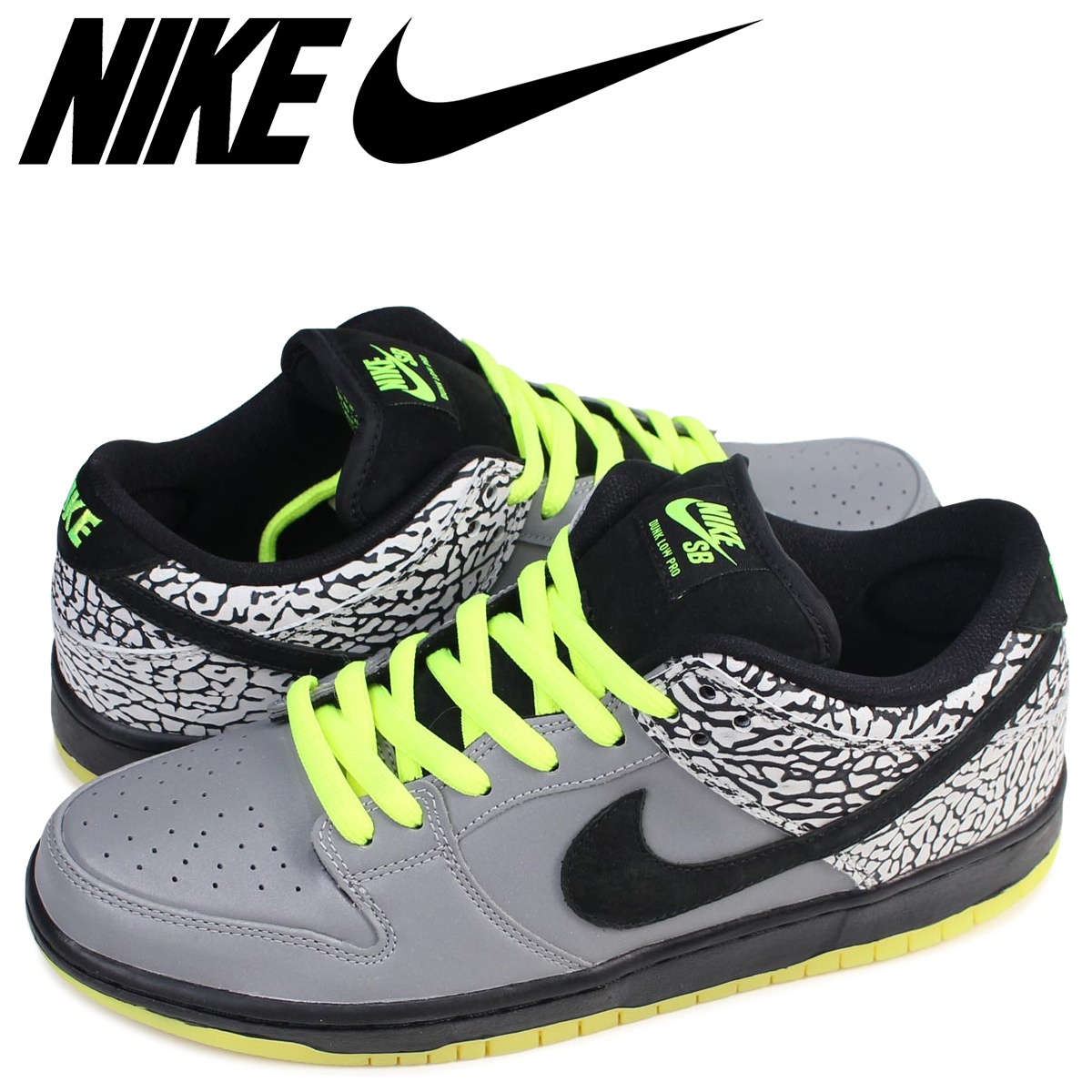 3d116c48a97 NIKE Nike SB dunk low sneakers DUNK LOW PREMIUM DJ CLARK KENT 504,750-017  men's shoes gray