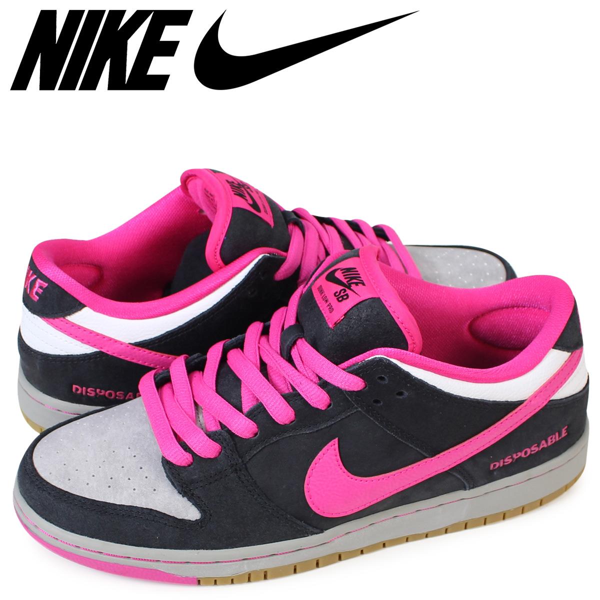newest a26f0 b752e NIKE Nike SB dunk low sneakers DUNK LOW PREMIUM QS 504,750-061 men's black  black