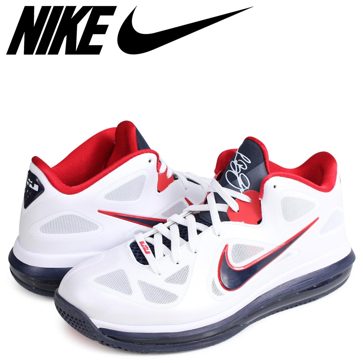 online store a2747 a2728 NIKE Nike Revlon 9 sneakers men AIR LEBRON 9 LOW USA 510,811-101 white