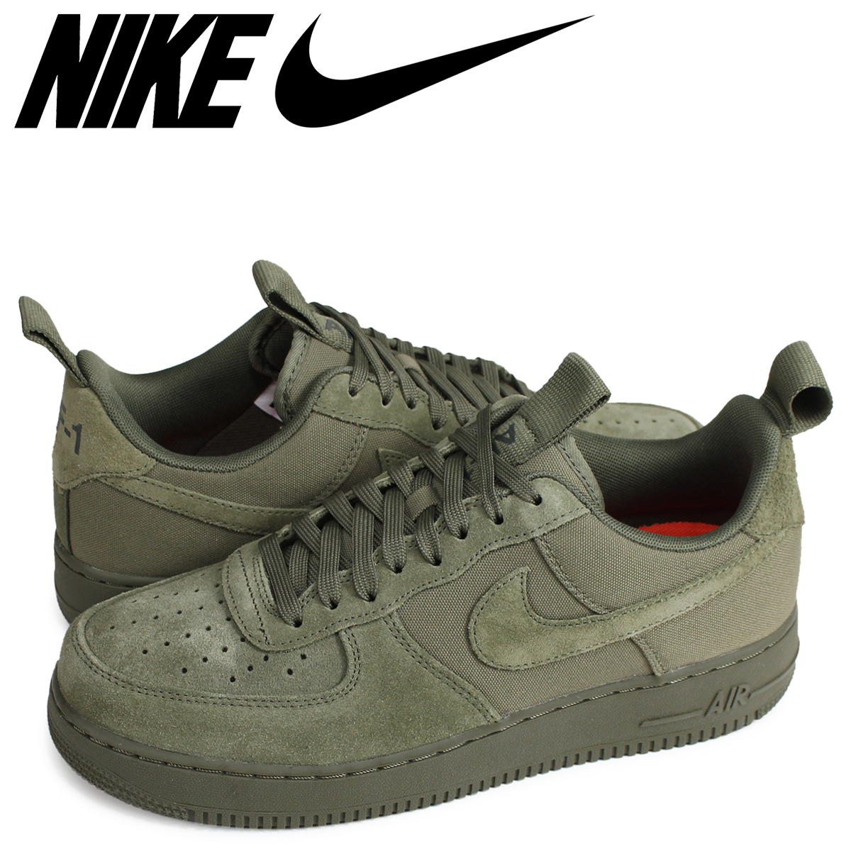 fd7be091a6 NIKE Nike air force 1 sneakers men AIR FORCE 1 07 CNVS 579,927-200 olive ...