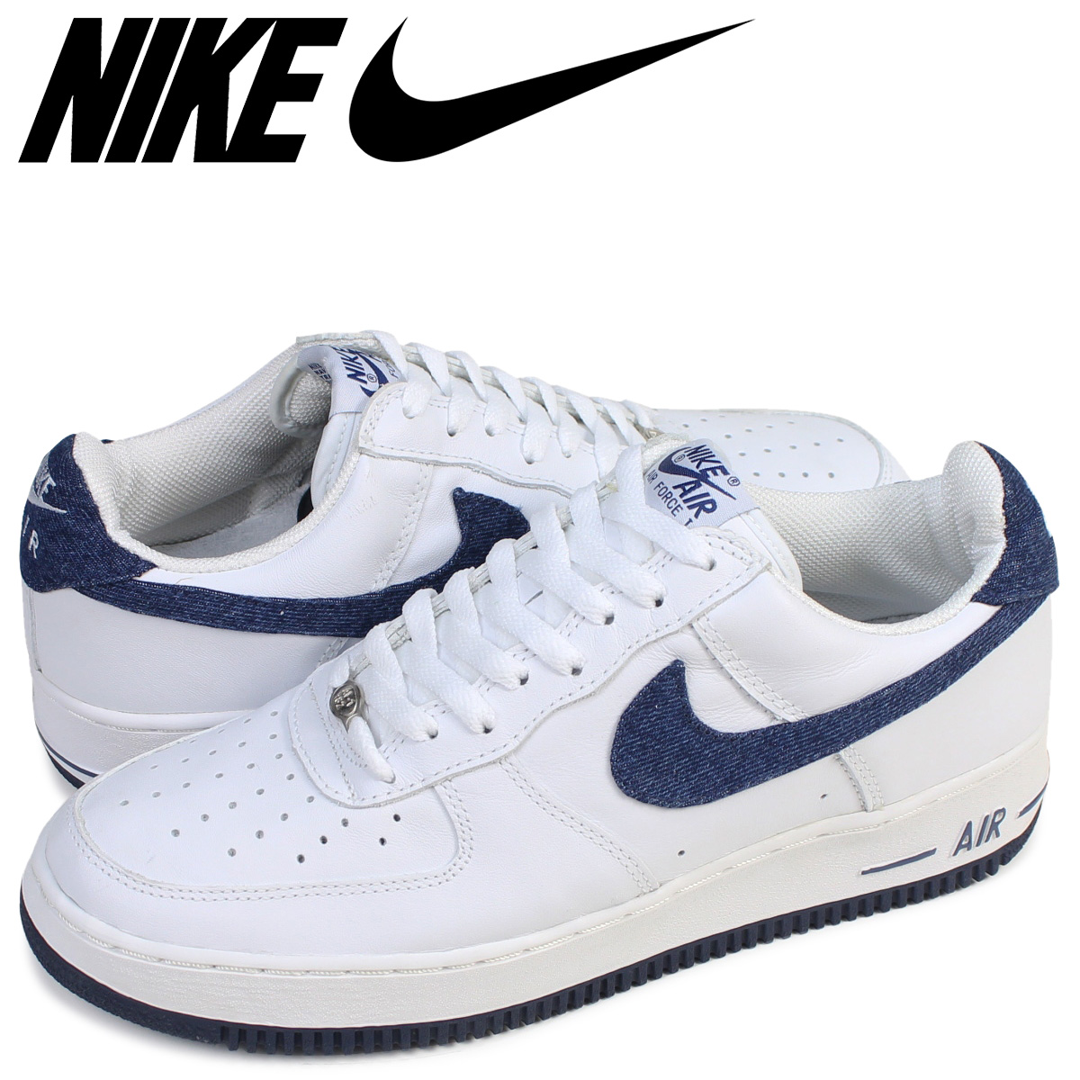 superior quality 1f9ab bc614 Nike NIKE air force 1 sneakers AIR FORCE 1 LOW 624,040-143 low men shoes  white