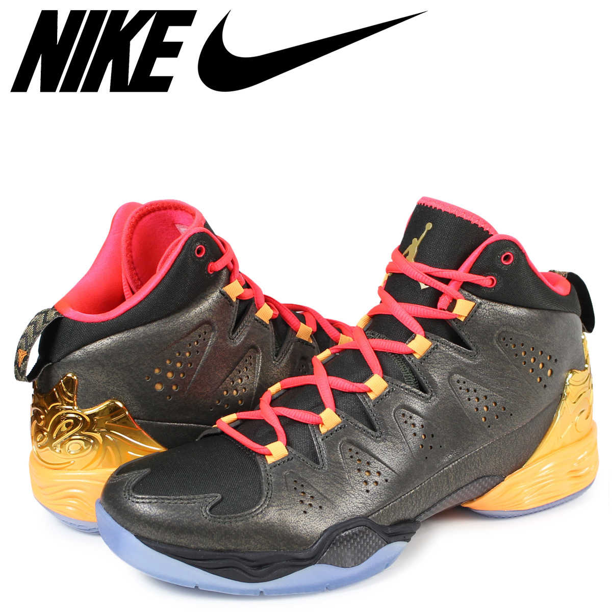 d6e85cd0346 NIKE Nike Air Jordan sneakers JORDAN MELO M10 Jordan Melo 656,325-323 black  men ...