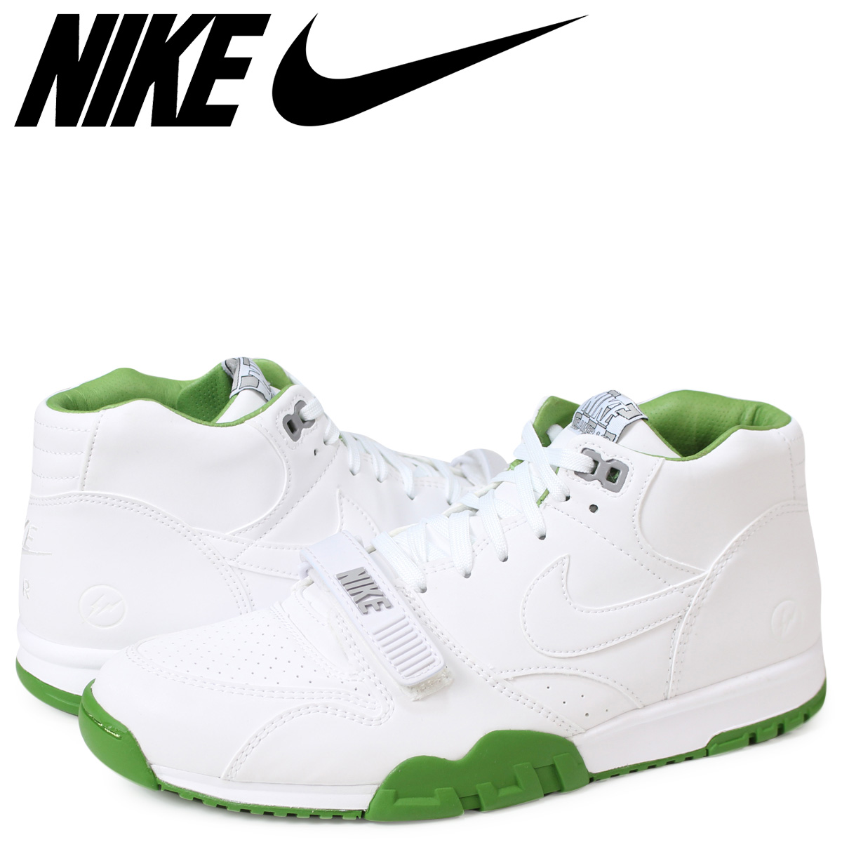 newest 7cb94 634ef NIKE Nike air trainer sneakers FRAGMENT COURT AIR TRAINER 1 806,942-113  fragment white