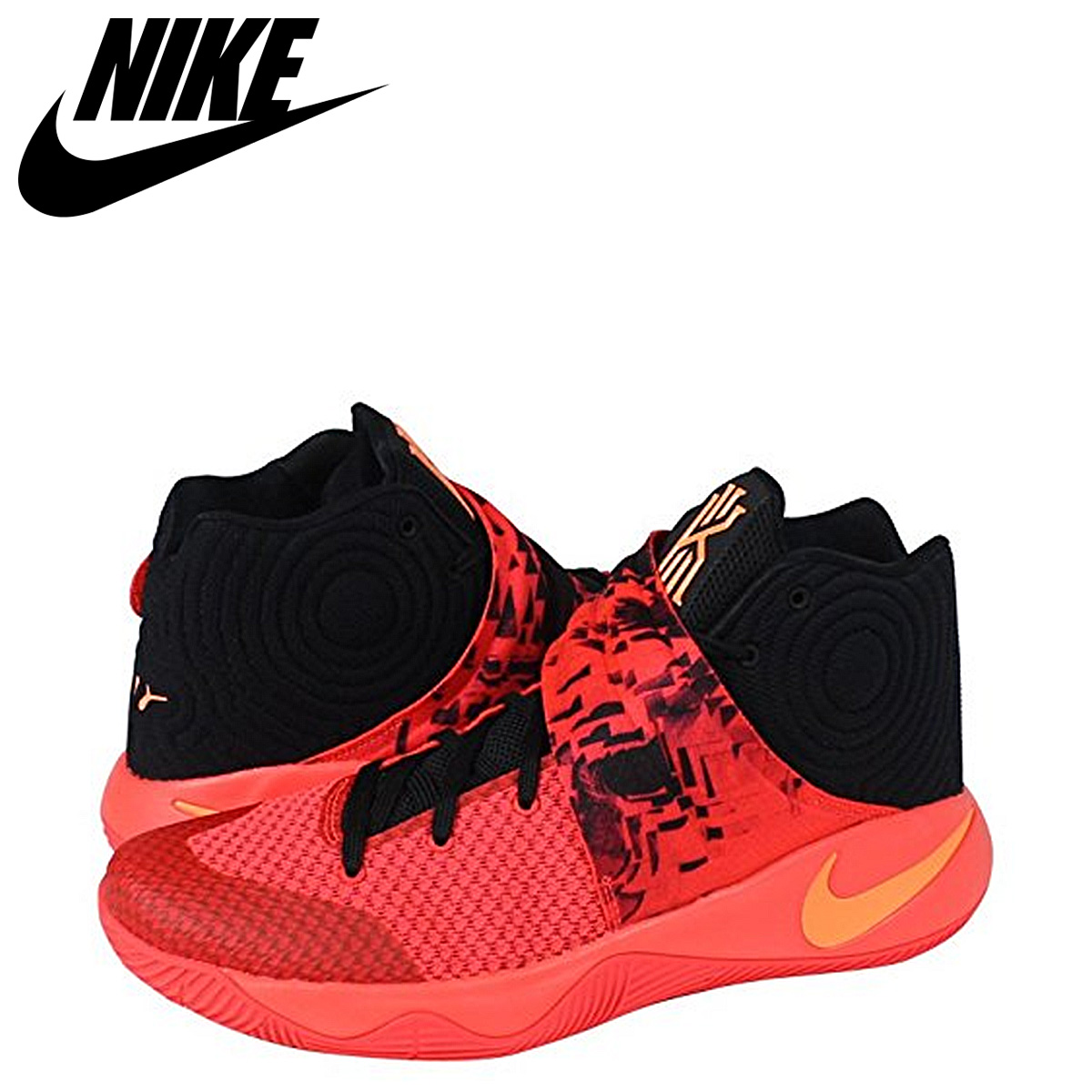 check out b2bd8 f0593 NIKE Nike chi Lee sneakers KYRIE 2 INFERNO chi Lee 2 inferno 820,537-680  crimson men