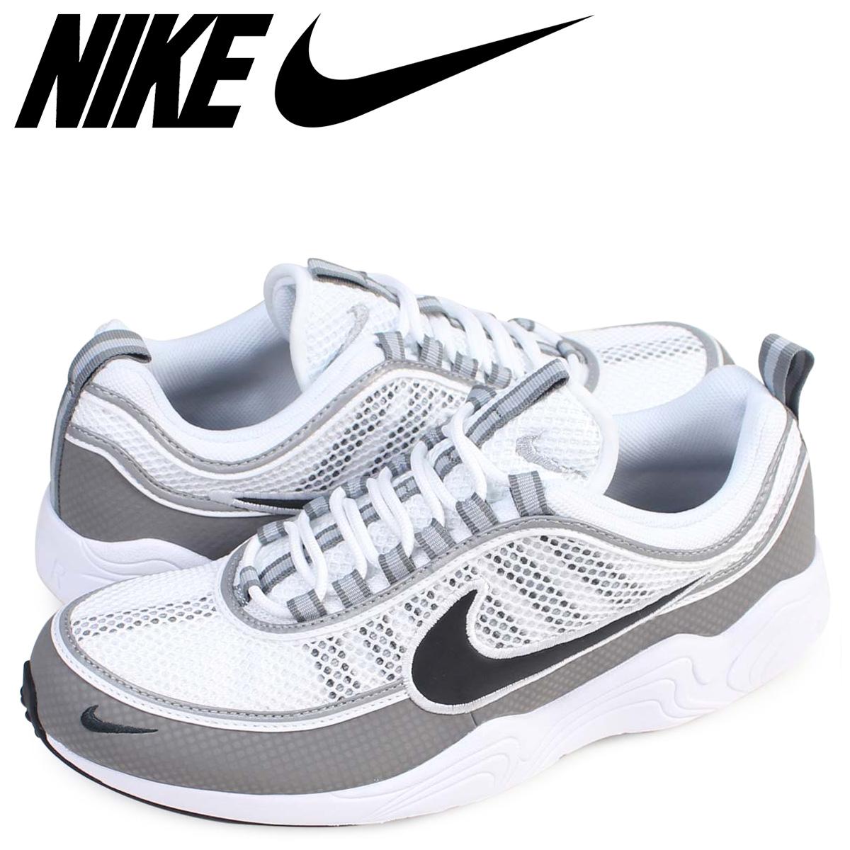 NIKE ナイキ エア ズーム スピリドン スニーカー AIR ZOOM SPRDN 849776-101 メンズ 靴 ホワイト 【zzi】
