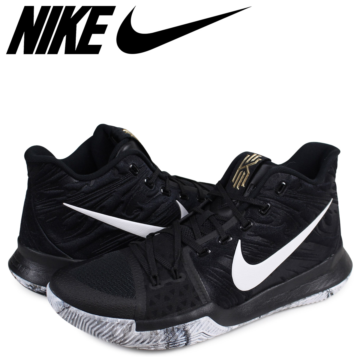 Sugar Online Shop  NIKE Nike chi Lee 3 sneakers men KYRIE 3 BHM ... 3f01663ee
