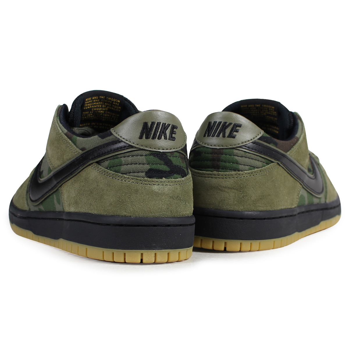 ae70574b2b8f2 ... NIKE Nike SB dunk low sneakers men ZOOM DUNK LOW PRO 854,866-209 olive  duck