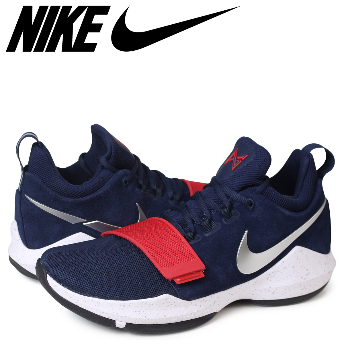 NIKE Nike PG1 sneakers men PG 1 EP 878,628 900 navy