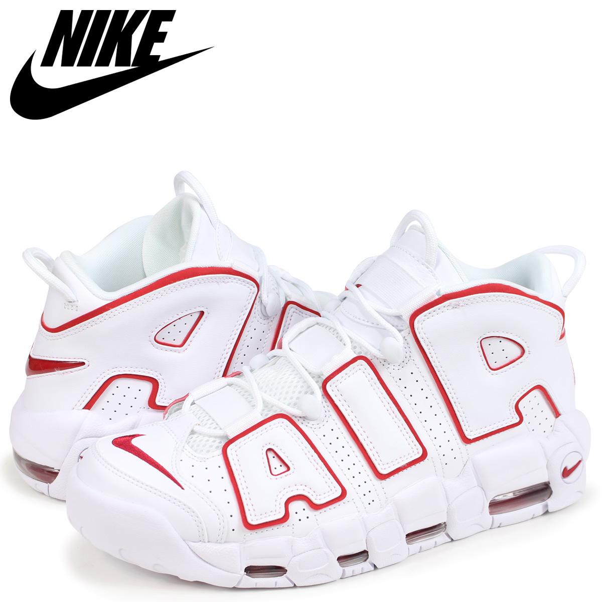 wholesale dealer 345d2 0de51 NIKE Nike air more up tempo sneakers men AIR MORE UPTEMPO 96 921,948-102  white