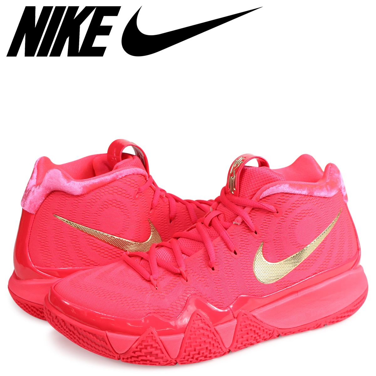 outlet on sale clearance prices arrives NIKE Nike chi Lee 4 sneakers men KYRIE 4 EP RED CARPET 943,807-602 red red