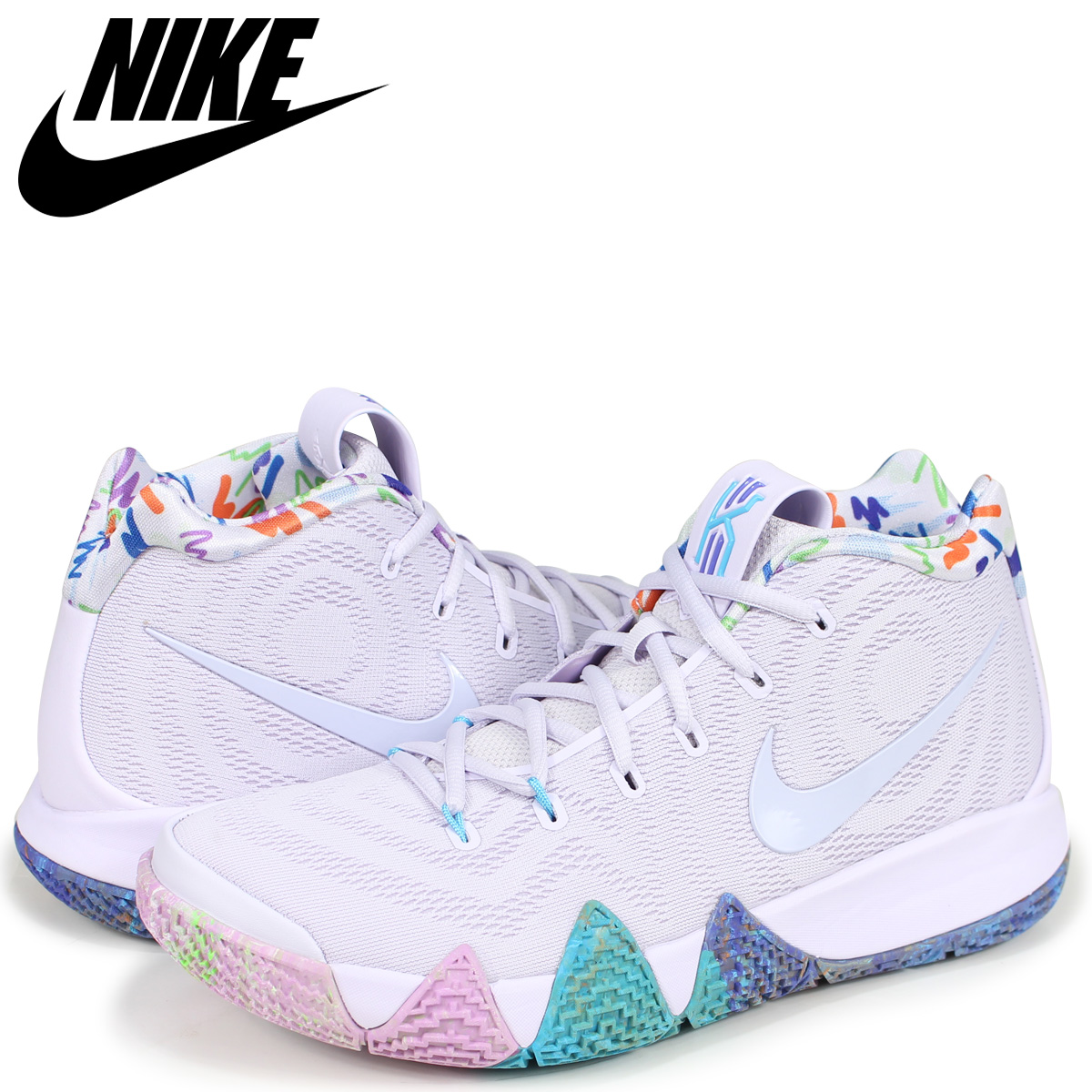 save off 034d3 bcb70 NIKE Nike chi Lee 4 sneakers men KYRIE 4 EP 90s 943,807-902 white white