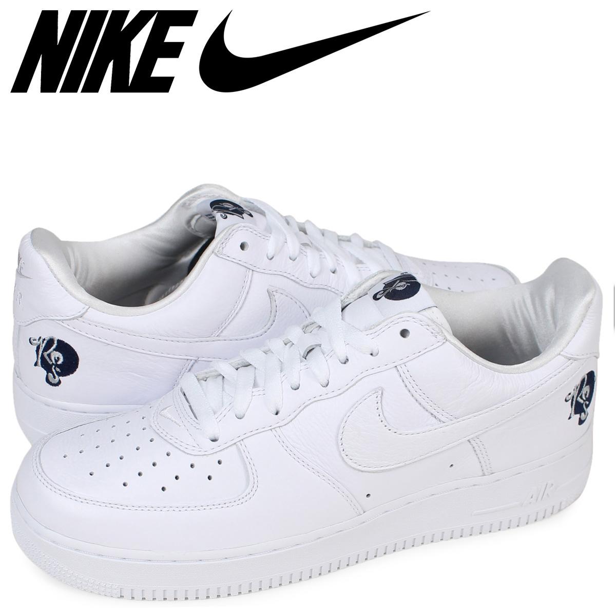 NIKE ナイキ エアフォース1 スニーカー AIR FORCE 1 07 ROCAFELLA A01070-101 メンズ 靴 ホワイト 【zzi】