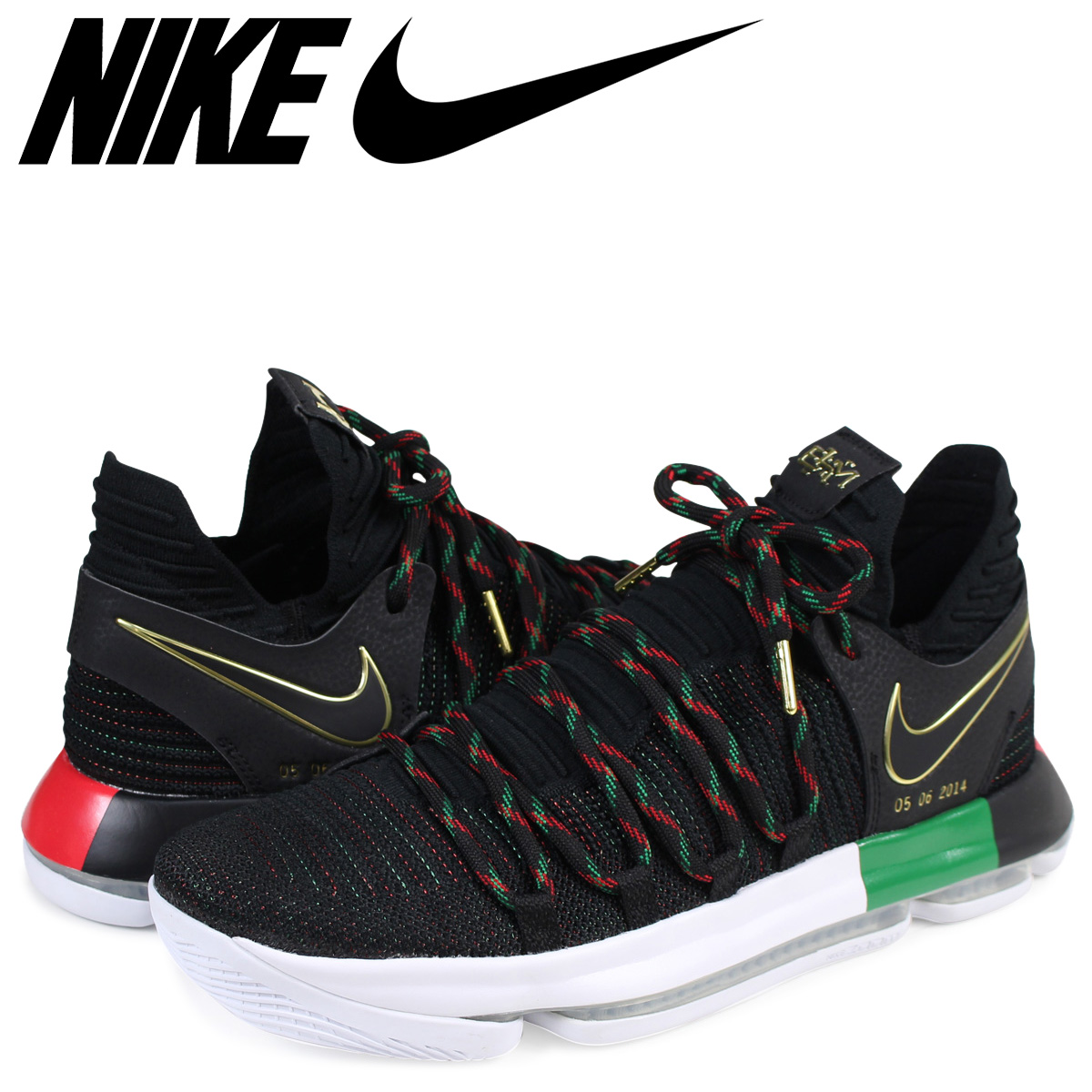 wholesale dealer 5330a 75205 NIKE Nike KD10 sneakers men ZOOM KD 10 LMTD EP BHM AA4197-003 Kevin Durant  black black