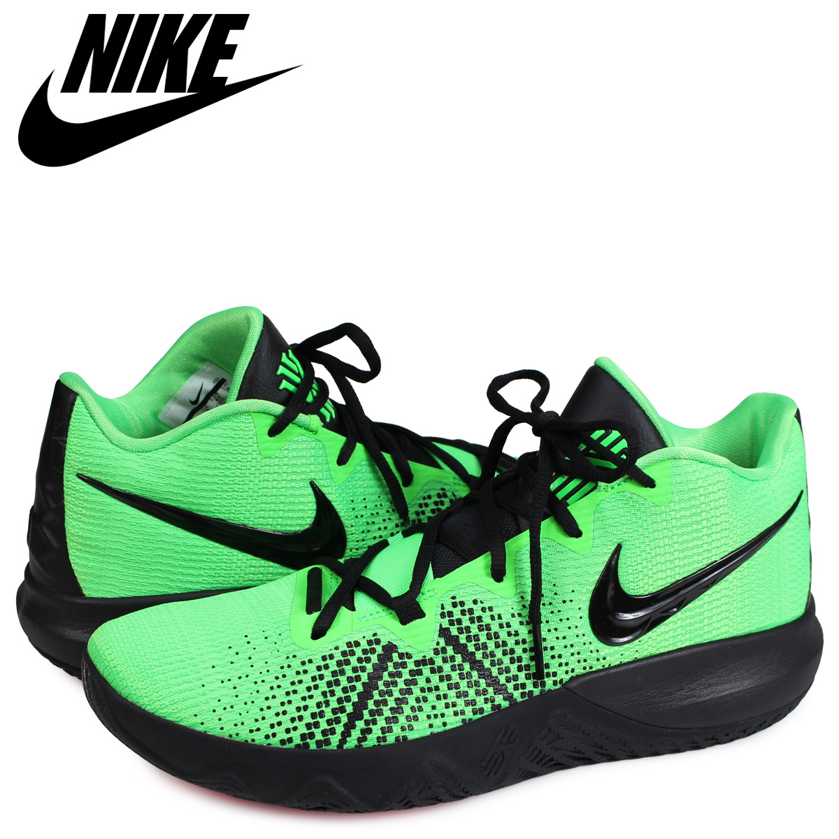 newest collection 9f47f 971af NIKE Nike chi leaf rat lap sneakers men KYRIE FLYTRAP green AA7071-300