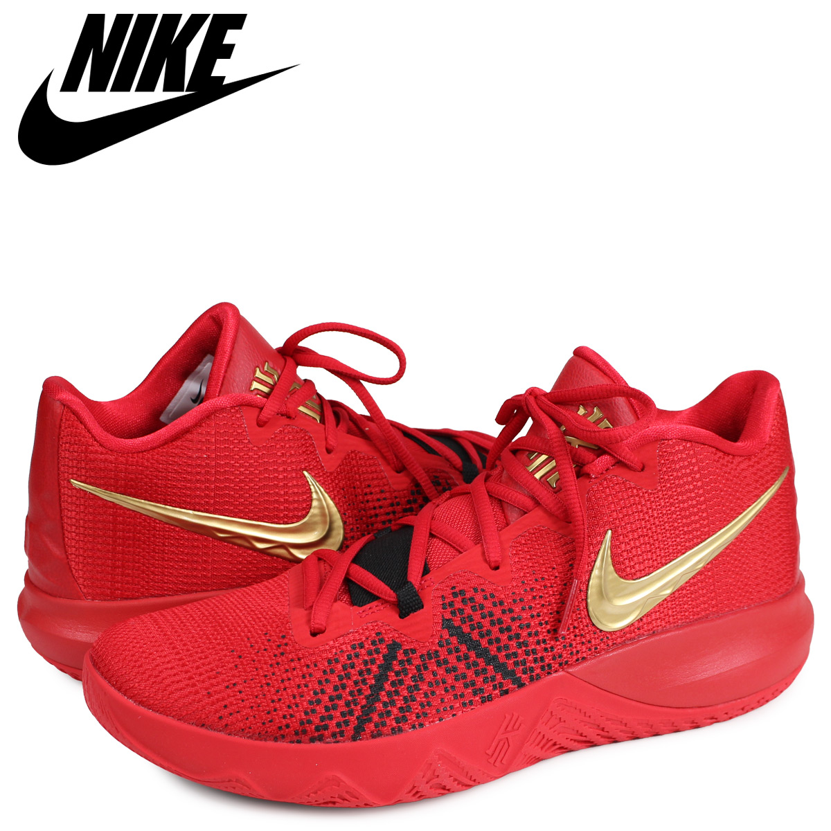 promo code 67705 4cc15 NIKE Nike chi leaf light lap sneakers men KYRIE FLYTRAP red AA7071-600