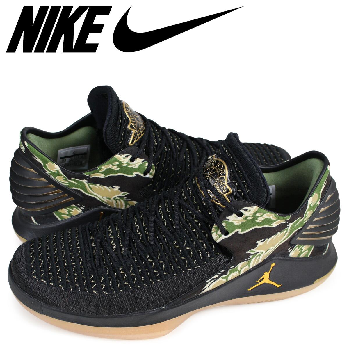 309af9a13dd NIKE Nike Air Jordan 32 sneakers AIR JORDAN 32 LOW PF AH3347-021 men black  ...