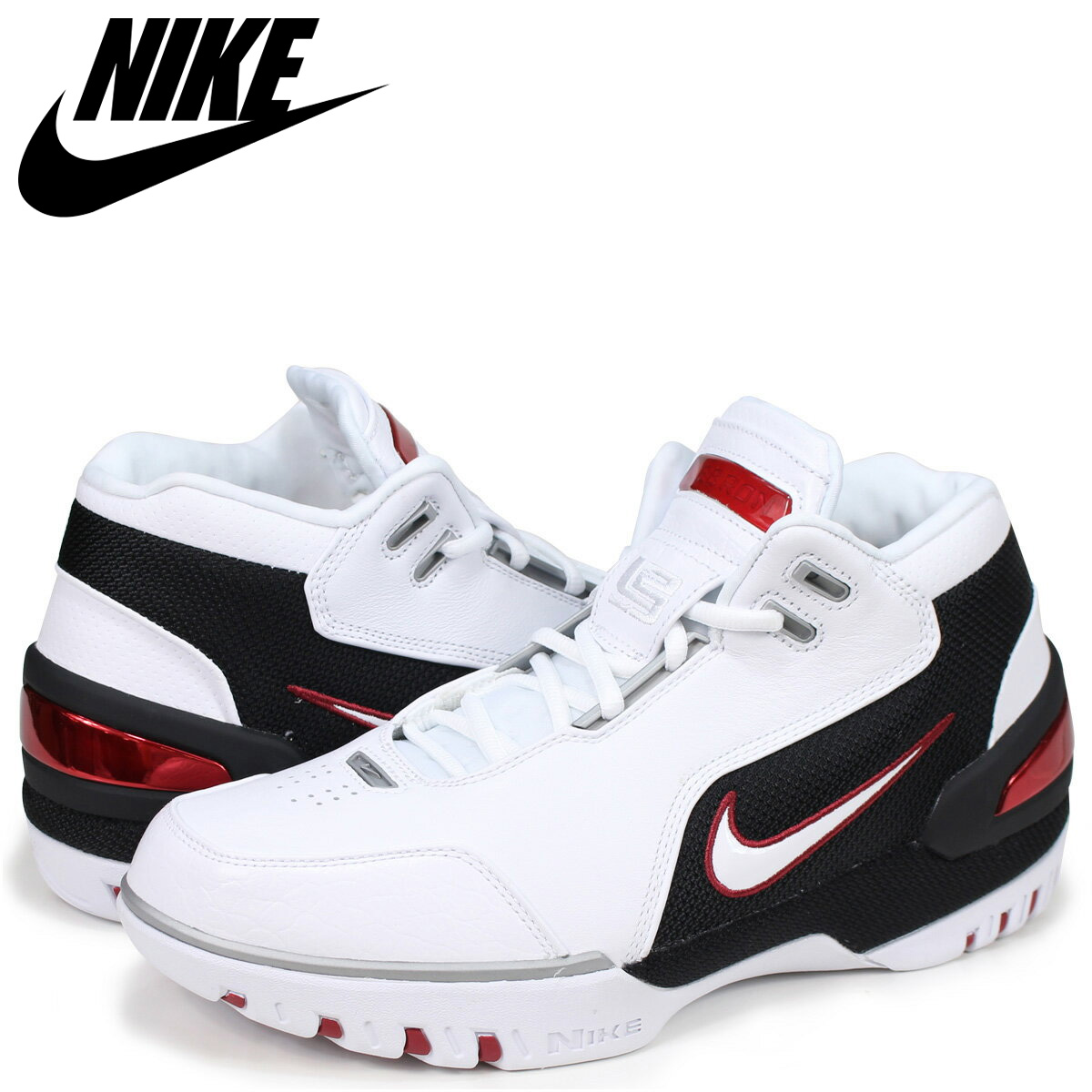 100% authentic 6733b 7df64 NIKE Nike air zoom generation sneakers men AIR ZOOM GENERATION AJ4204-101  white