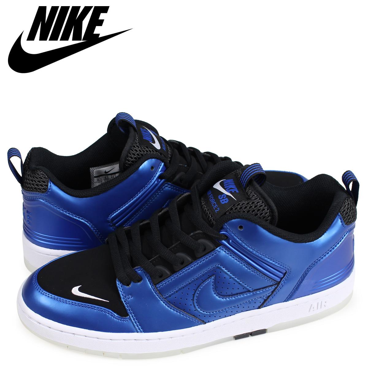 best sneakers 03b7c e3a08 NIKE Nike SB air force 2 sneakers men AIR FORCE 2 LOW FOAMPOSITE 1 blue  AV3800-440