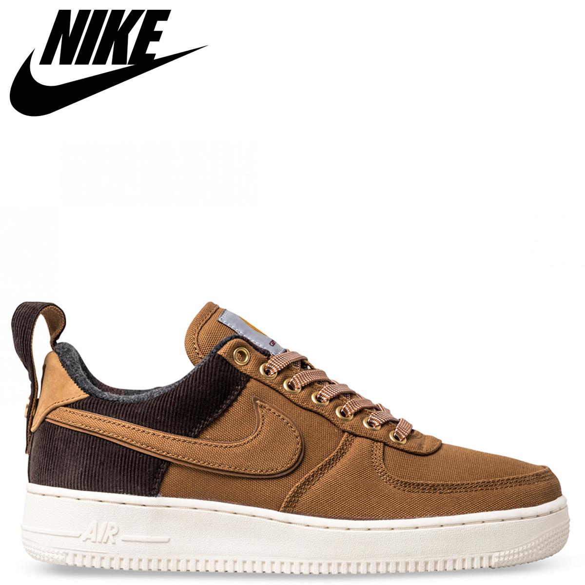 b474e7a5dc NIKE Nike air force 1 sneakers men AIR FORCE 1 07 PREMIUM CARHARTT WIP  collaboration brown AV4113-200