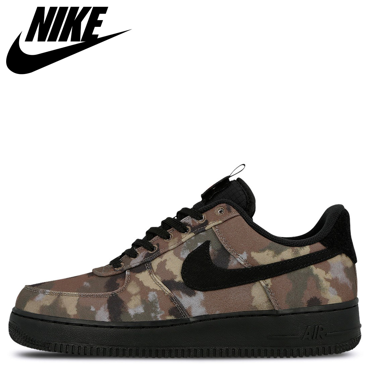 "Nike Air Force 1 Low ""Italy Country Camo"" Ale BrownBlack For Sale"