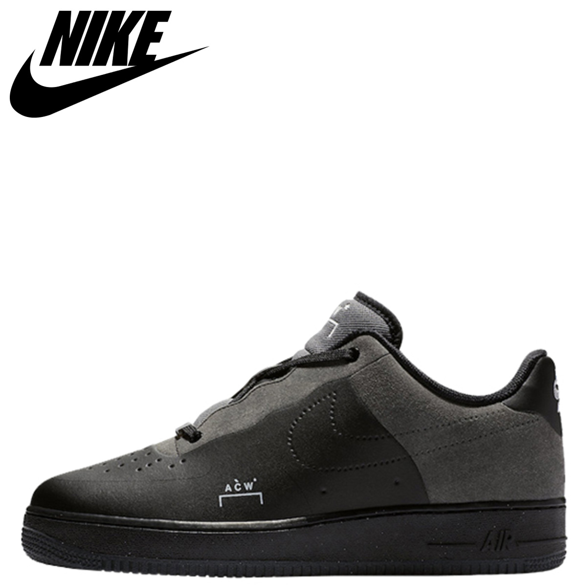 A COLD WALL Nike Air Force 1 Black Grey