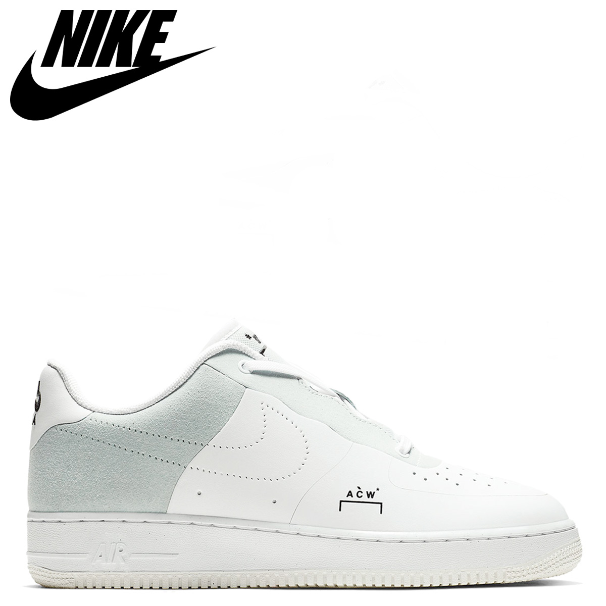NIKE Nike air force 1 sneakers men AIR FORCE 1 07 A COLD WALL collaboration white white BQ6924 100