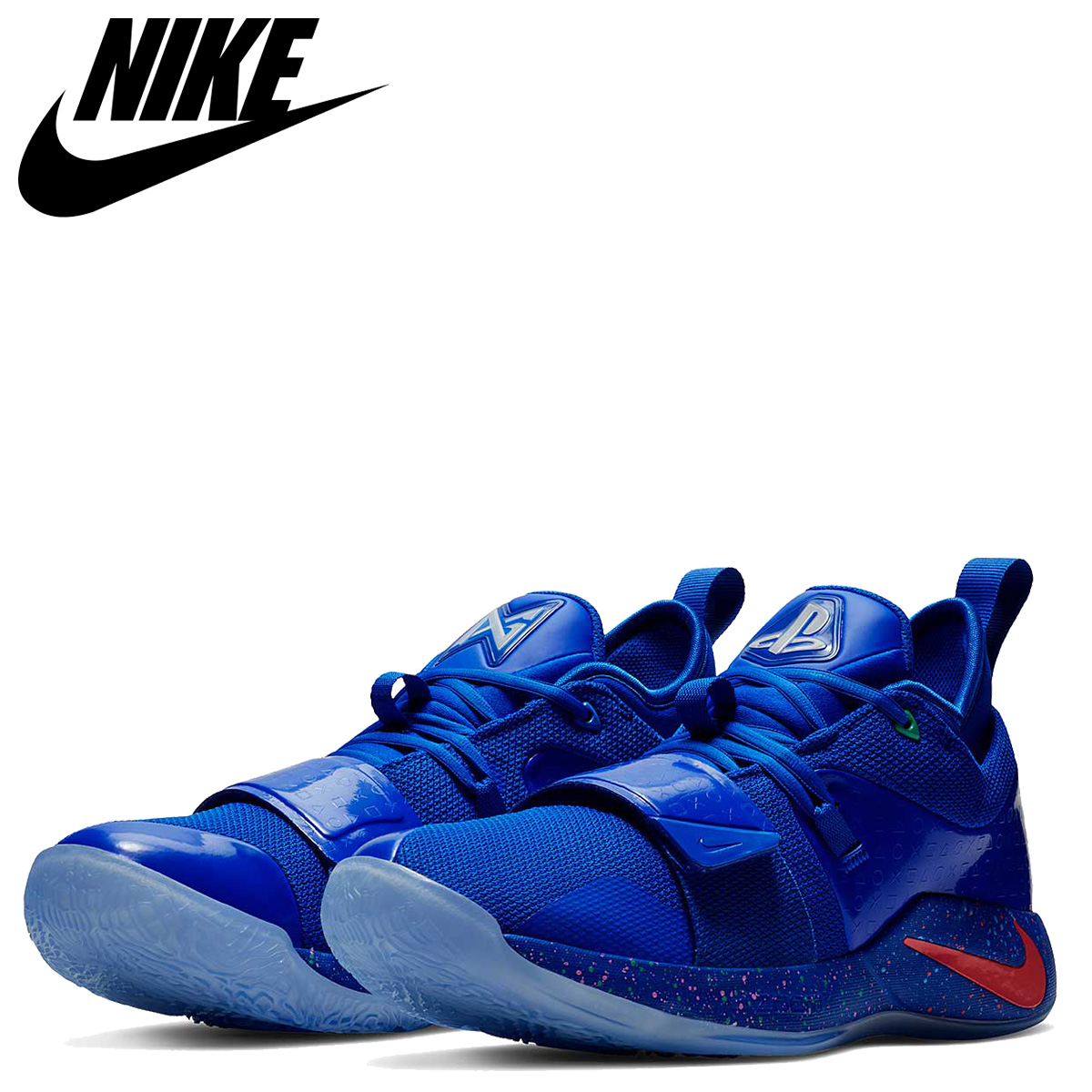 the best attitude 86f95 2218a NIKE Nike PG2.5 sneakers men PG 2.5 PLAYSTATION collaboration blue  BQ8388-900