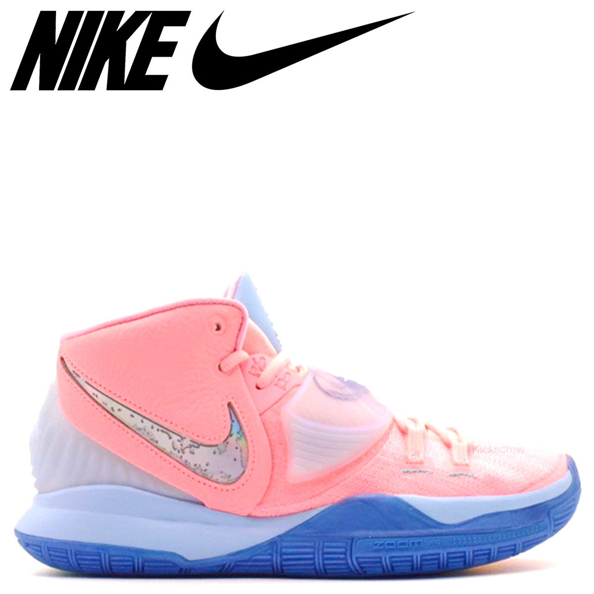 NIKE ナイキ カイリー 6 コンセプツ EP スニーカー メンズ KYRIE 6 CNCPTS EP ピンク CU8880-600 【zzi】 【返品不可】