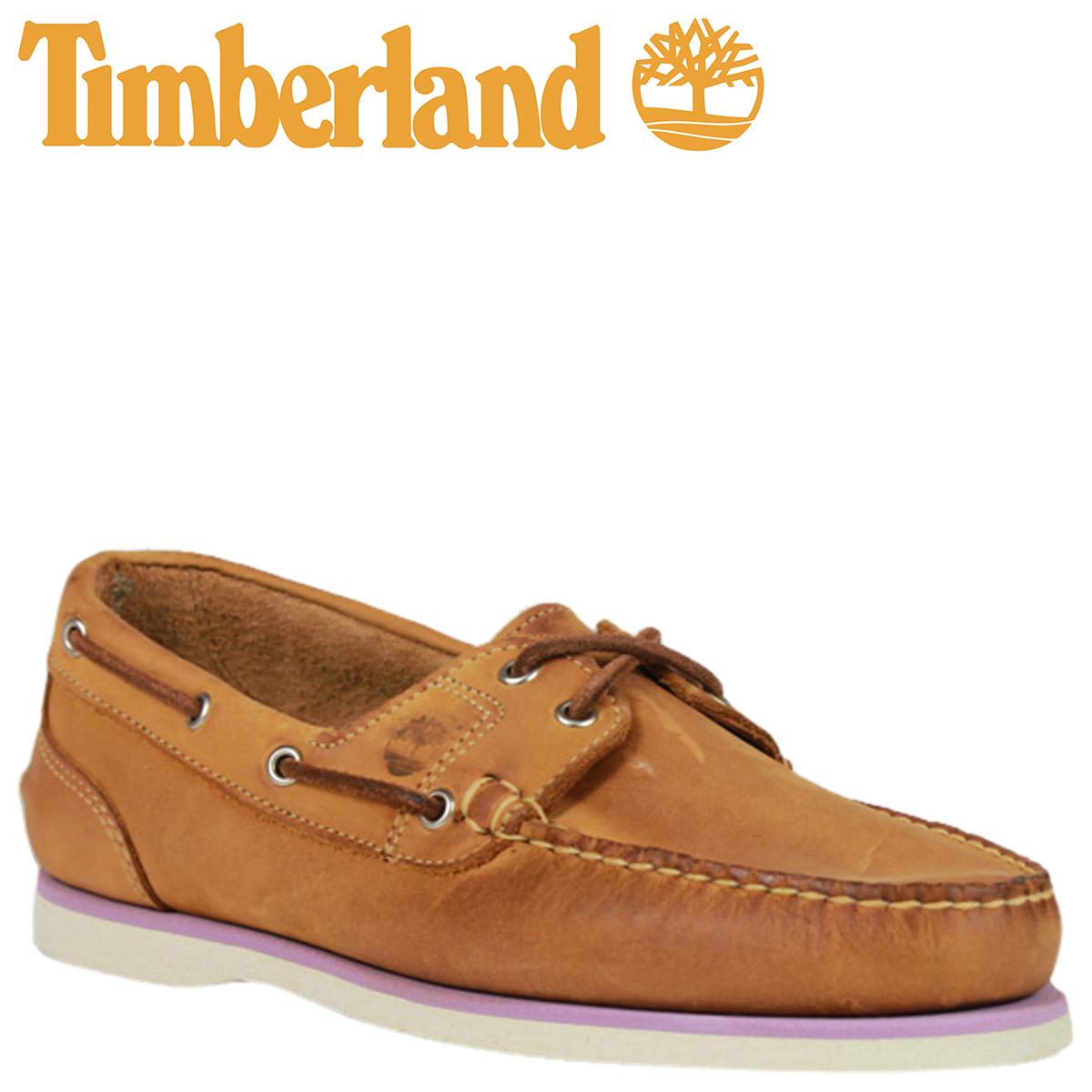 timberland women's classic 2 eye boat shoe