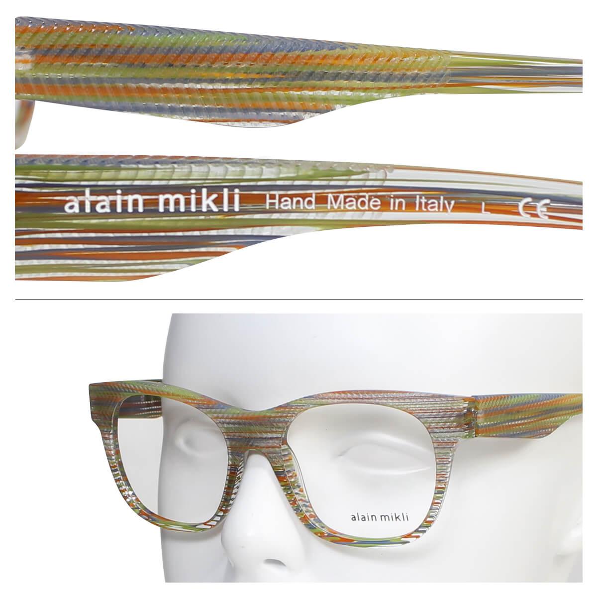 alain mikli メガネ アランミクリ メガネフレーム 眼鏡 イタリア製 メンズ レディース