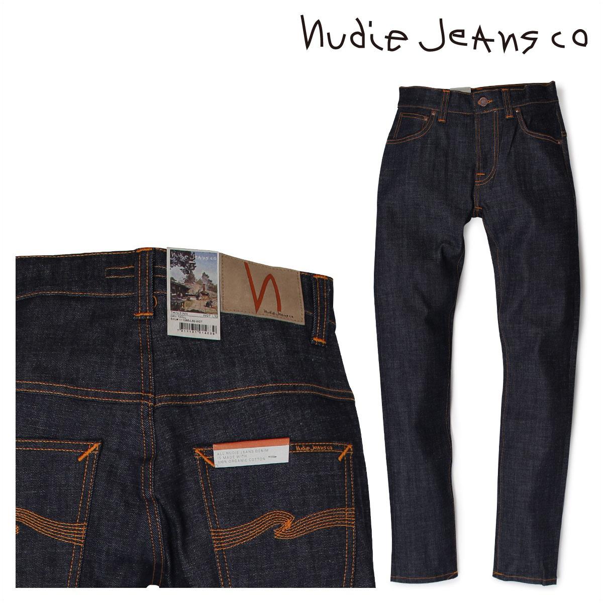 都内で ヌーディージーンズ nudie jeans THIN FINN スキニー メンズ THIN スキニー デニム パンツ FINN DRY TWILL ブルー, 会社の星:d013632f --- canoncity.azurewebsites.net