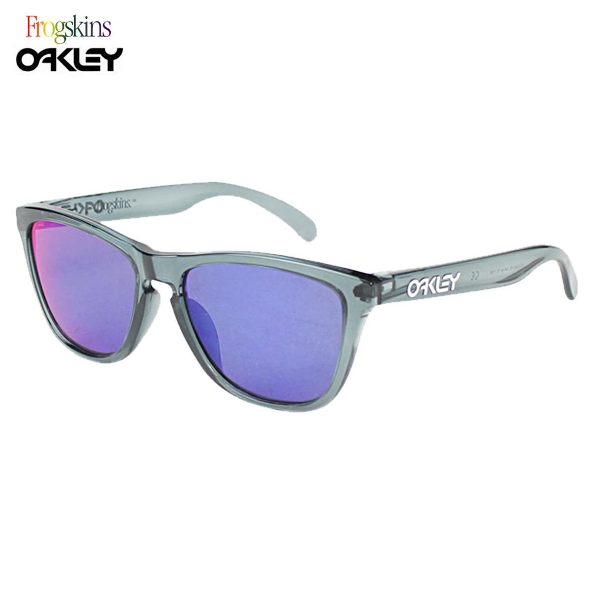 78418dcf991 Sugar Online Shop  Oakley Oakley sunglasses Frogskins Asian Fit frog skin  horse mackerel Ann fitting crystal black men gap Dis OO9245-18