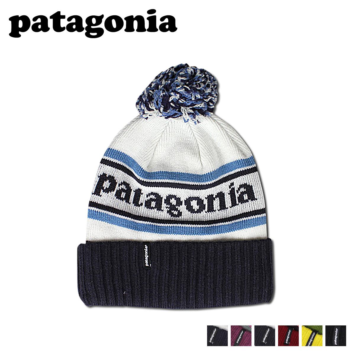 Sugar Online Shop  Patagonia patagonia knitted Cap 29185 Powder Town Beanie  nylon mens Womens FALL 2013 new  f994f260f9