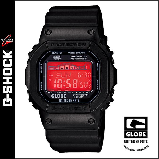凱西歐凱西歐 g 衝擊手錶跑車-5600-1JR 全球全球協作男士女士們衝浪滑板