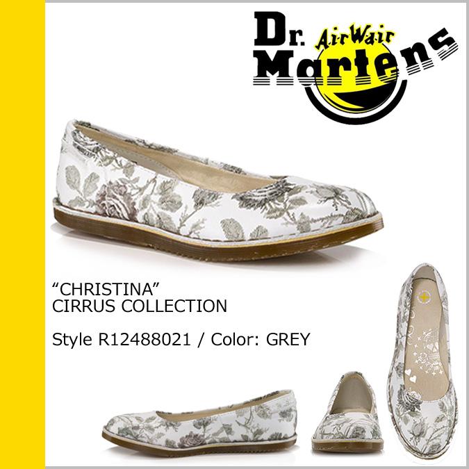 Dr. Martens Dr.Martens pumps White x gray leather ladies