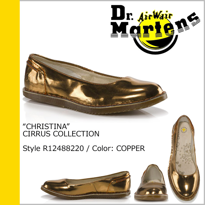 Dr. Martens Dr.Martens pumps Gold Leather Womens