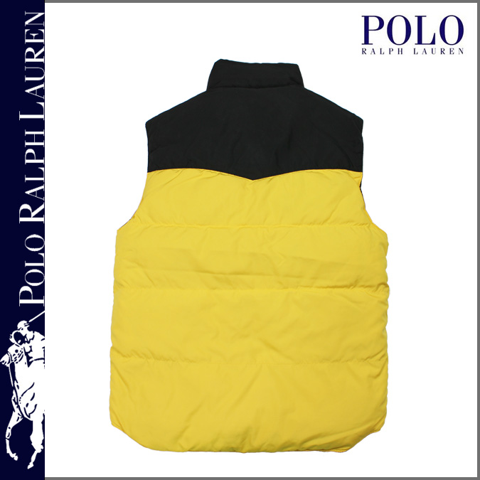 black and yellow ralph lauren polo