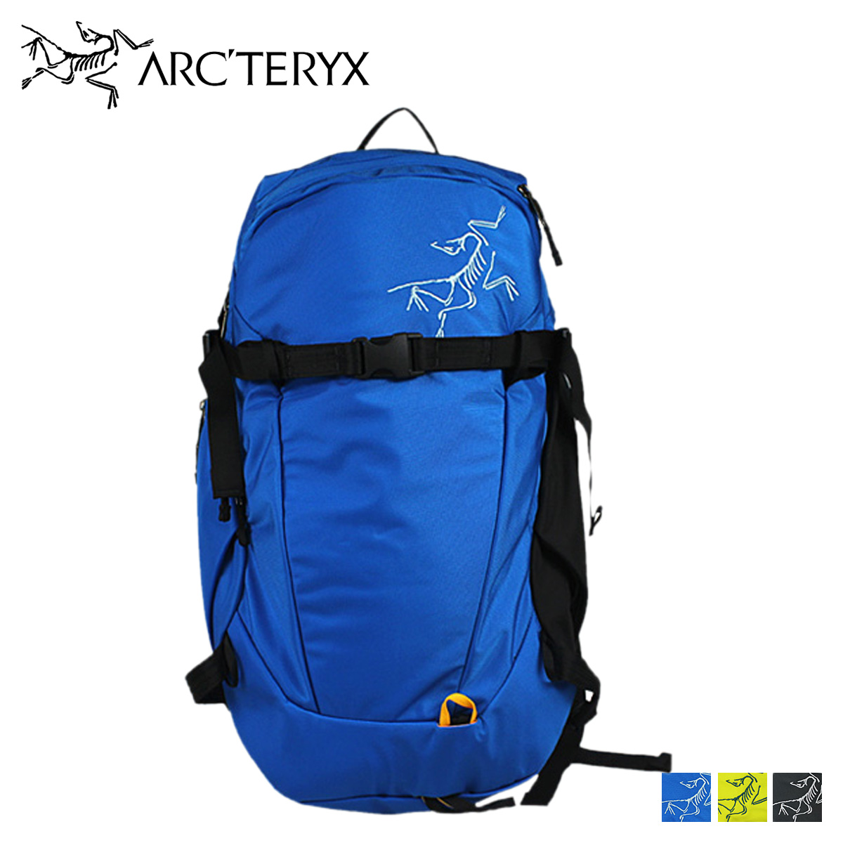 b7c74597eb Arc'Teryx ARC ' TERYX backpack 3 color 9508 QUINTIC 28 daypack backpack  mens unisex ...