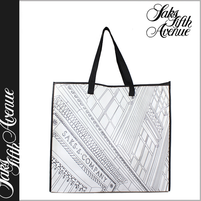 At Saks Fifth Avenue Eco Bag Tote Las Mens