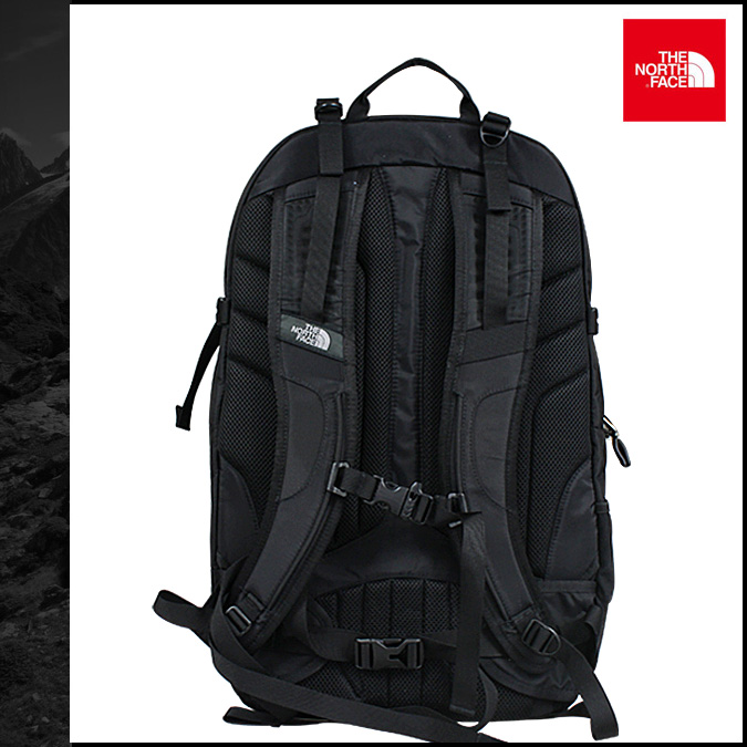 The North face THE NORTH FACE backpack rucksack [black] ROUTER BACKPACK men  A92N [