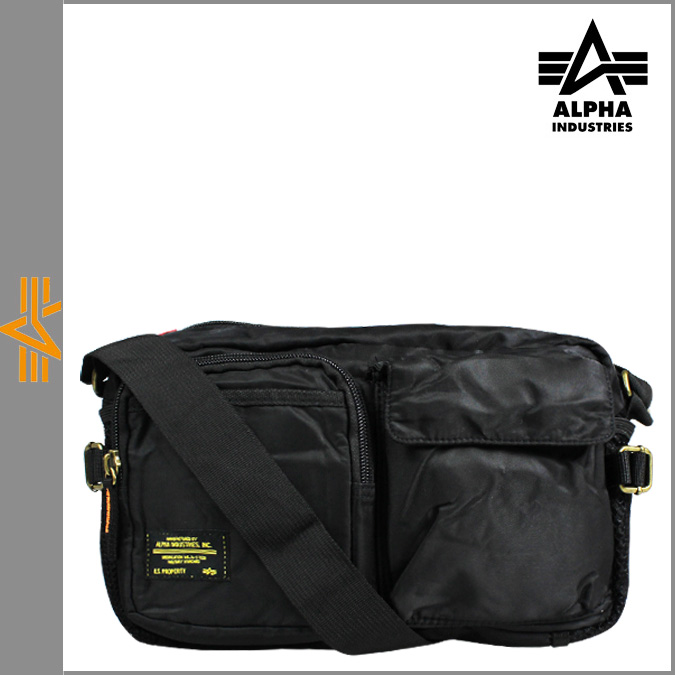 阿尔法工业 ALPHA 肩包 [黑色] 多用途袋男装包 [定期] 10P30May15 x 10 点