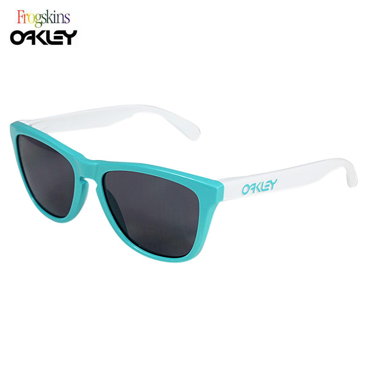 オークリー Oakley サングラス Special Edition Heritage Frogskins ヘリテイジ フロッグスキン メガネ 24-417 シーフォーム グレー メンズ レディース 【CLEARANCE】